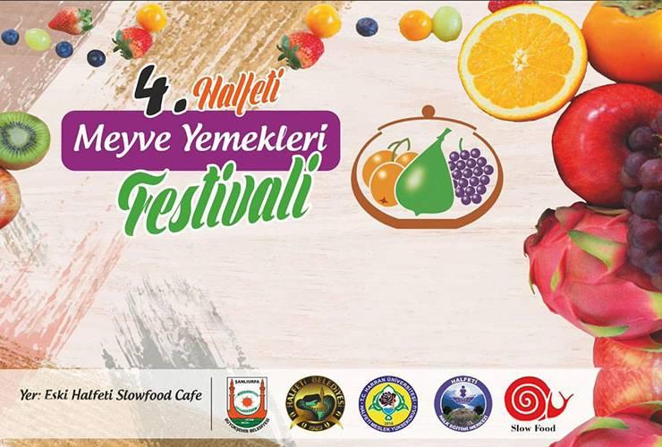 Halfeti Meyve Yemekleri Festivali