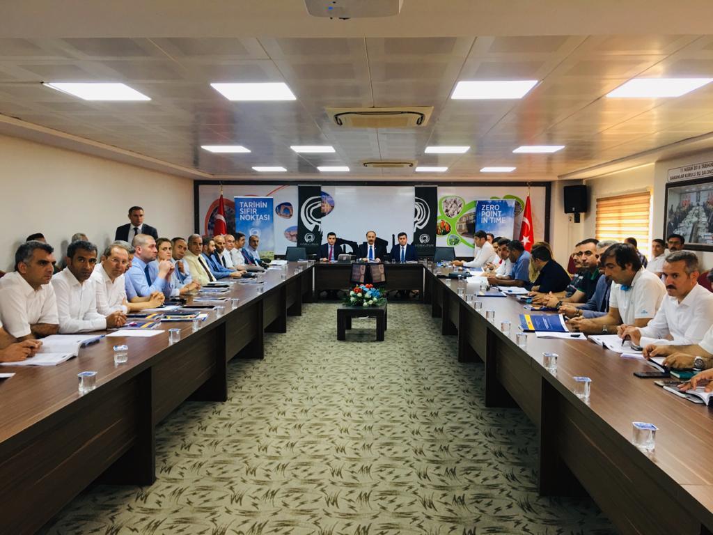 Şanlıurfa Turizm Konseyi Toplantısı Gerçekleşti