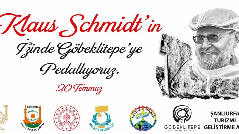 Klaus Schmidt'in izinde Göbeklitepe'ye Pedallıyoruz