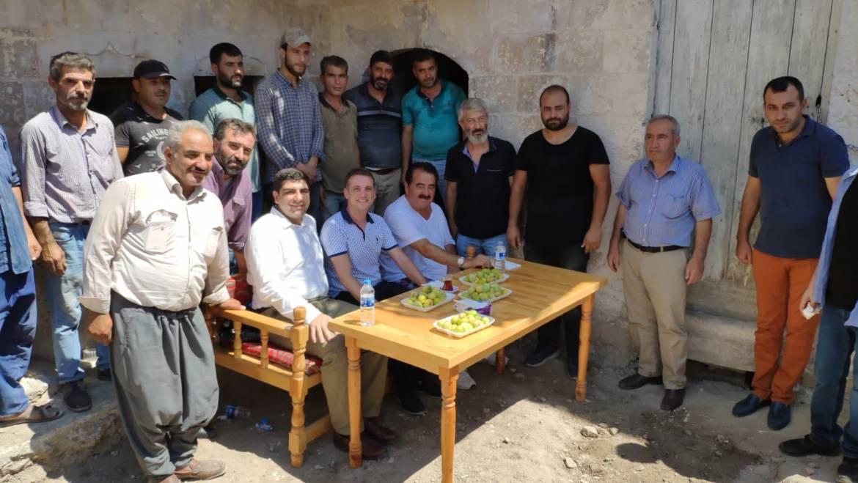 İbrahim Tatlıses Şanlıurfa Turizmi Geliştirme AŞ'nin konuğu oldu