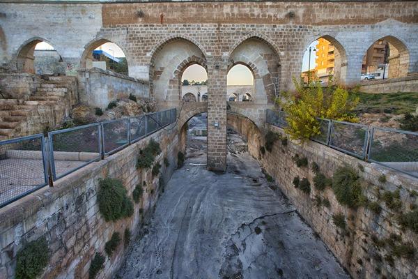 Justinian Water Bent & Aqueduct