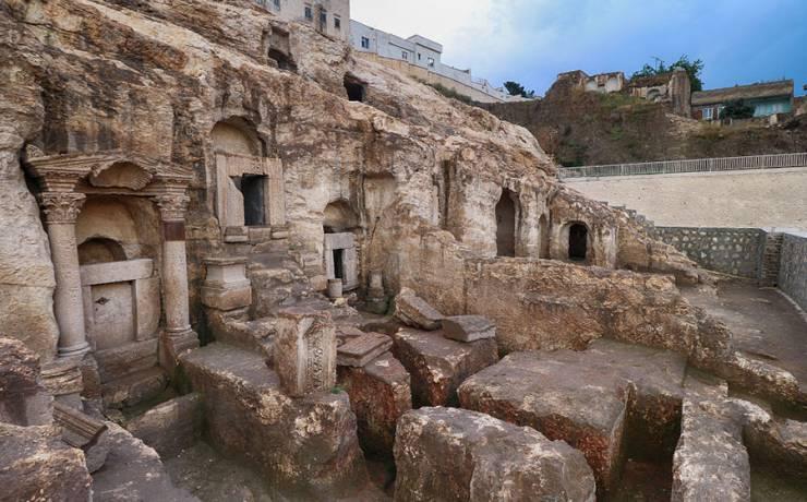 Kızılkoyun Kaya Mezarlığı